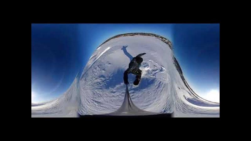 Катание на сноуборде Нытва Eken pano 360