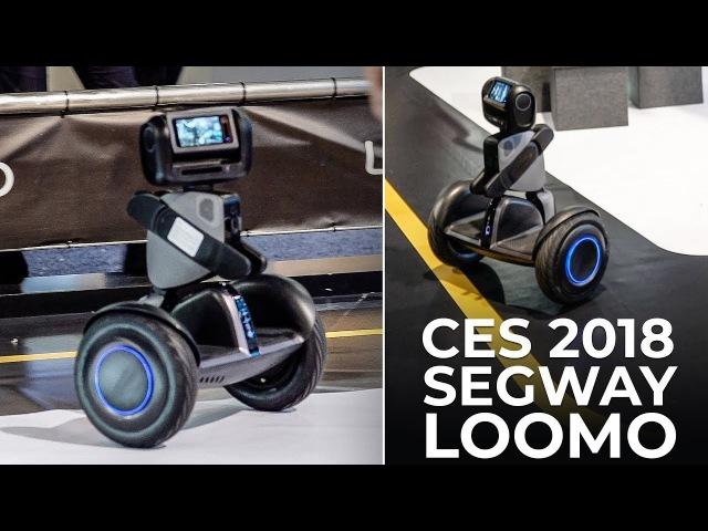 CES 2018 - Segway Robotics Loomo mobile companion at the Consumer Electronics Show