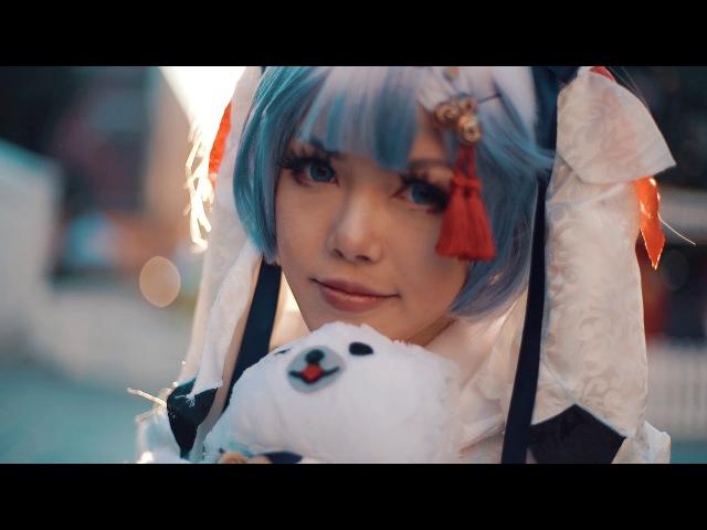 Hatsune Miku - White Christmas (Snow Miku Cosplay 2018)