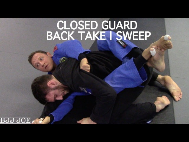 Closed Guard Back Take and Sweep with Professor Diogo Fregonese, Kong's Gym, Fellbach, Germany closed guard back take and sweep