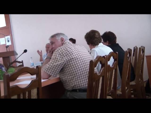 Зазнобин В М 2011 06 06 Встреча с учёными ИФСиП НАН Азербайджана ч 2 из 2
