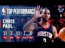 Chris Paul's 31 Points and 11 Assists Leads Rockets Over Hornets December 13 2017