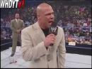 WWE SmackDown 7/22/2004 - Kurt Angle Fires Tony Chimel