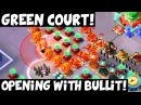 Green Court: Opening with Bullit! ✦ Boom Beach