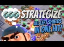 Boom Beach Strategize 3 Left Shields in One Hit with Bullit and Zookas