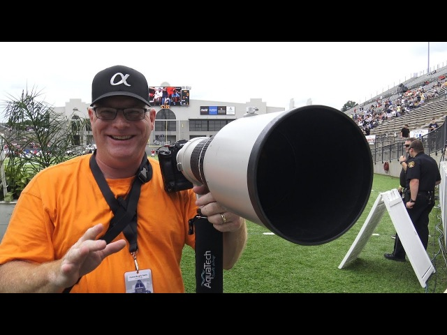 Sony A9 with Metabones IV and the Canon EF600mm f/4L IS FOOTBALL