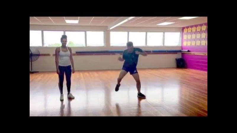 Training Kirsten Dodgen Alex Davidovich - The Palace Dance Studio