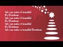 Big Time Rush - Beautiful Christmas ~Lyrics~
