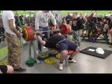 32 Русская Тройка М свыше 120 кг Фомин Дмитрий 2 подход 220 кг