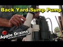 French Drain with Sump Pump