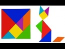Learning Animals With Tangram Puzzle for Kids - Fun Easy Learning