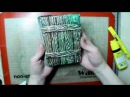 Необычный блокнот с «деревянной» обложкой-дверцей