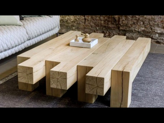 ✔️ Tables Made Of Wood! 📷 More Than 40 Design Options