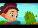 Развивающий мультфильм для детей – Четверо в кубе - Есть контакт – окружающий мир