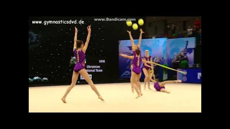 Team Ukraine3 3 balls 2 ropes EF - Miss Valentine 2018