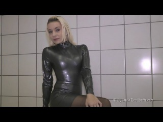 LATEX Larissa28 Wetlook Boots dress Buffalo 11840 Devilbutts