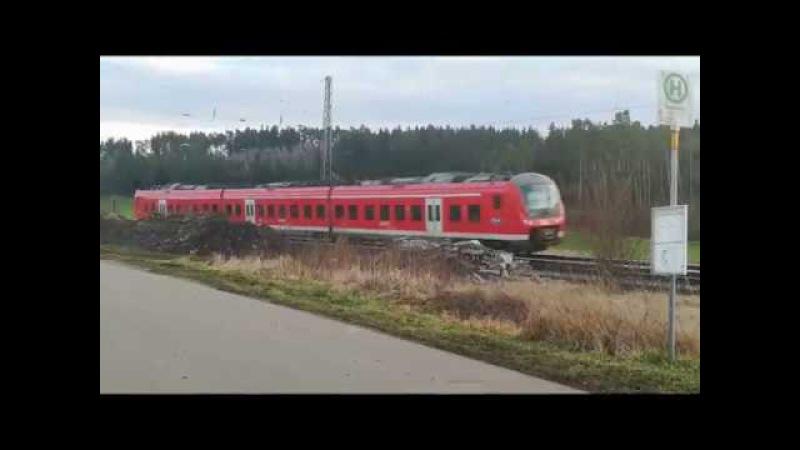 Impressionen von den stillgelegten Bahnhöfen Lehrberg und Rosenbach