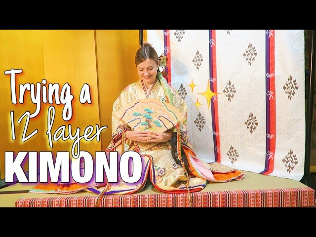 TRIP TO OTSU CITY: Fancy Kimono Trying Gourmet Japanese Food!