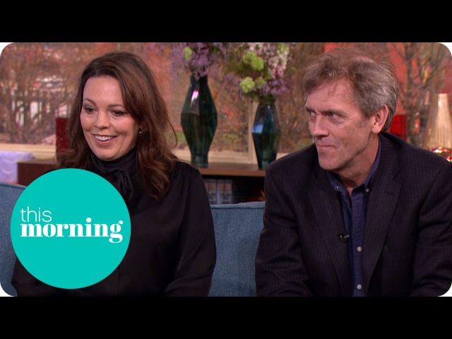 Hugh Laurie and Olivia Colman on The Night Manager This Morning