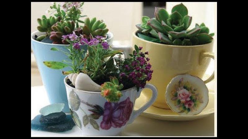 DIY Flower DECOR✔10 Easy Crafts ideas for flower decoration