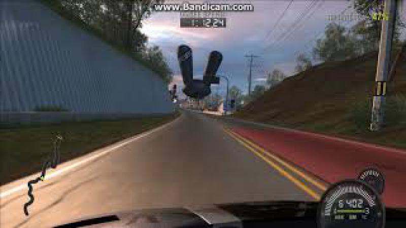 Скоростные гонки Фукусима 3 на Lamborghini Murcielago