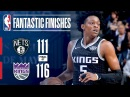 The Nets and Kings Play a Tight Game Into Overtime March 1, 2018 NBANews NBA Kings Nets