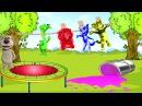 Кот Том Мой Говорящий Том Песенка для детей 5 малышей