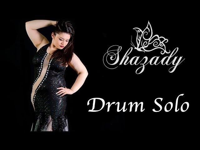 Shazady - Drum Solo - Gala Anual de Escuela Sahar - Sala Mafalda Mora