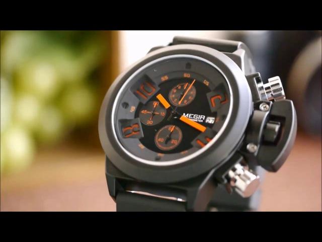 Часы MEGIR CHRONOMETER (Siegel USA) - Купить в Санкт-Петербурге.