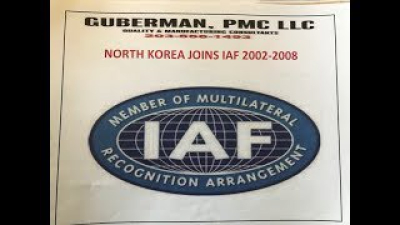 NO!- ACCREDITED CERTIFICATIONS MAY NOT BE RELIED UPON - under ANAB CHINA LEAD IAF