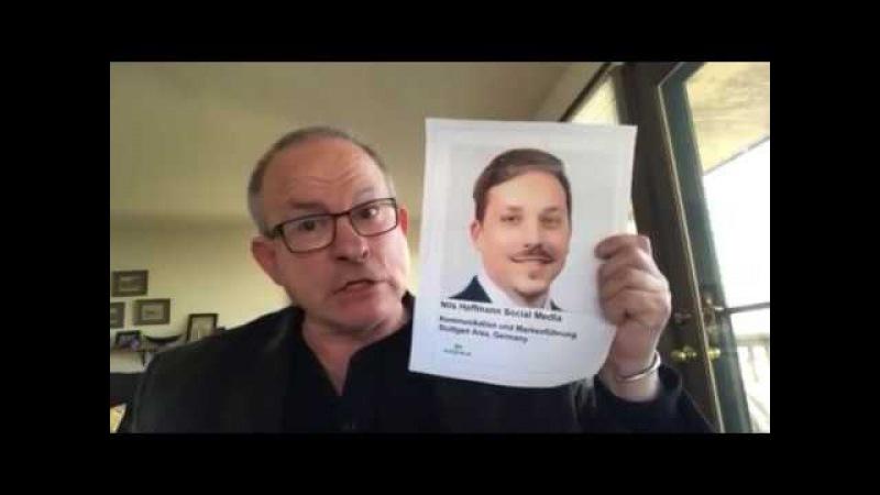 DEKRA-Nils Hoffmann- Protests GUBERMAN's Claim Of Terrorist Affiliation With China-Led-IAF