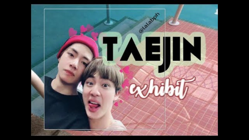 TAEJIN EXHIBIT PART 1 ♡ VJIN (뷔진 / 태진)