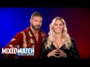 Wrestling Premium Charlotte Flair Bobby Roode proudly represent Girl Up in WWE Mixed Match Challenge