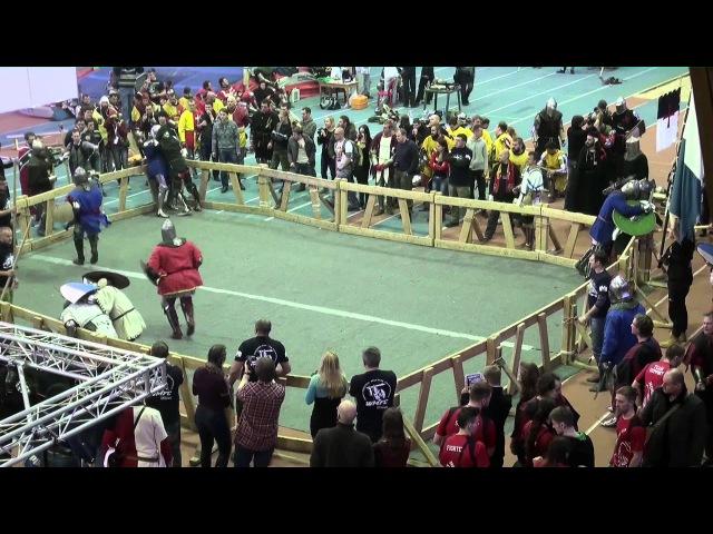 ДИНАМО 2014 12fight Сябры vs РОРД