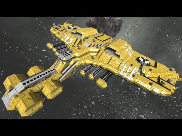 Space Engineers Tau Manta Spaceship Warhammer 40k