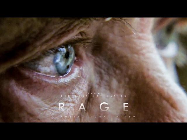 R A G E Motivational Video A Life Changing Speech