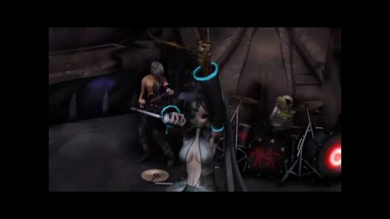 11th MMD Cup finals Hatsune Miku Corpse Attack!! Shroud sound Shie pollution LIVE Band Edition 1