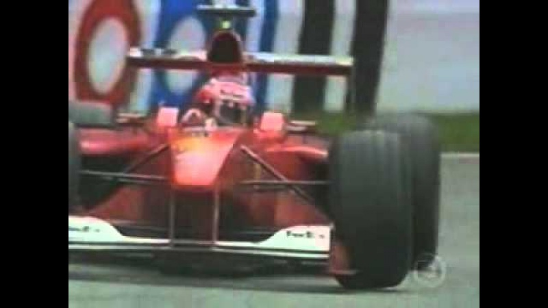 Primeira vitoria do Rubens Barrichello na Fórmula 1