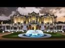 3D видео проект шикарной виллы с водопадом