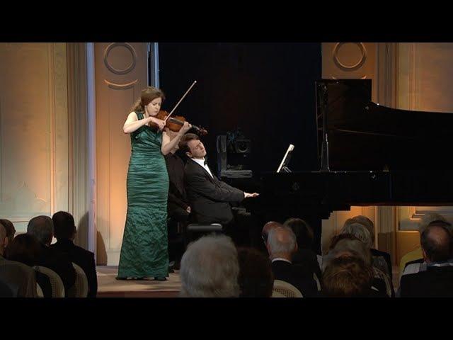 VILDE FRANG MICHAIL LIFITS play Gabriel Fauré Sonata for Violin Piano in A major op 13