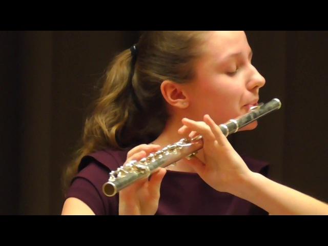 Франц Допплер. Салонная мазурка. Флейта и фортепиано.