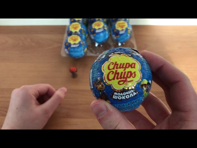Chupa Chups Chocolate Ball Surprise Egg Paw Patrol part 1