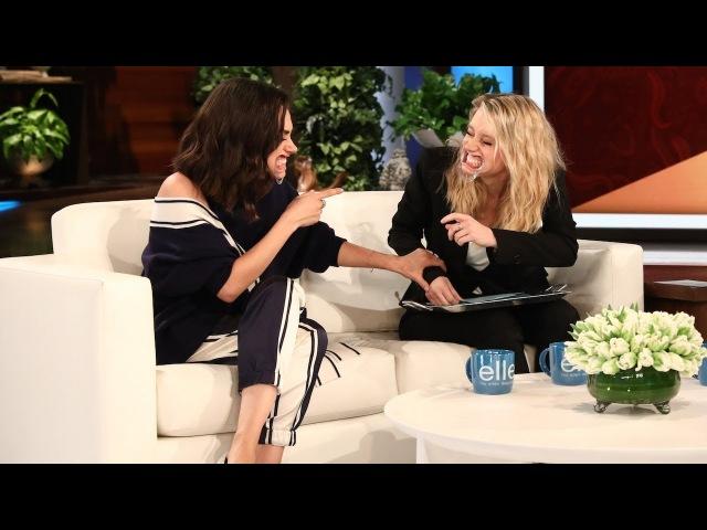 Mila Kunis Kate McKinnon Play 'Speak Out'