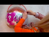 Funny story about baby Alisa and Doll Unboxing Surprise box Opening Giant LOL TOYS Review Kids songs