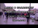 ПК - Акция в Поддержку - ЗабастовкаИзбирателей - Санкт-Петербург - 28.01.2018 - S-720-HD - mp4
