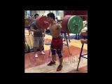 Tian Tao (85kg) Back Squat 310kg!