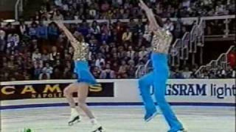 Гордеева-Гриньков, Чемпионат мира 1988