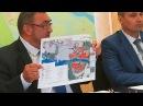 Пресс конференция в мэрии 24 07 2017 о вырубках леса в Череповце