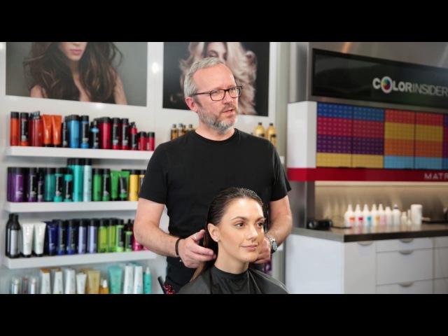 Neutralize Brassy Tones on Balayage Hair Matrix
