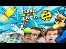 Бета игра Tennis in the face на плейстейшен 4 Теннис в лицо на пс4 без матов Юрок